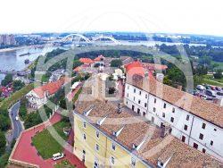 Panorama Petrovaradinske tvrdjave , Novi Sad