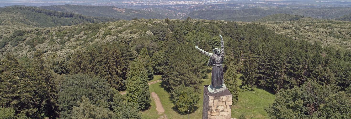Fruska Gora i spomenik Sloboda