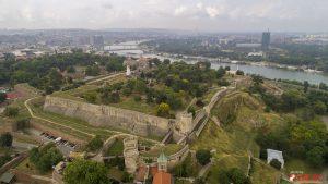Beogradska tvrdjava - Kalemegdan iz vazduha